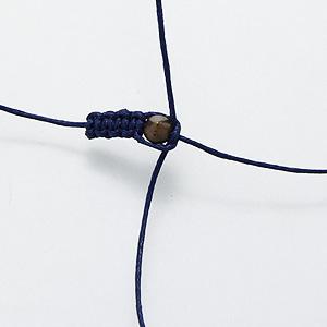 Плетение браслета шамбала