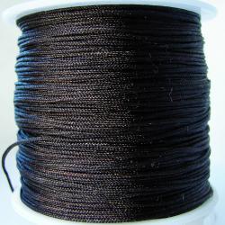 Шнур нейлоновый для рукоделия черный