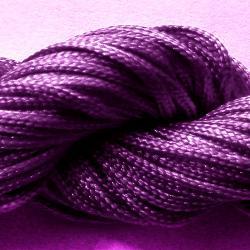 Шнур нейлоновый для рукоделия, фиолетовый