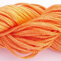 Шнур нейлоновый для рукоделия, ярко оранжевый