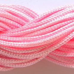 Шнур нейлоновый для рукоделия нежно розовый