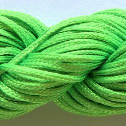Шнур нейлоновый для рукоделия ярко зеленый