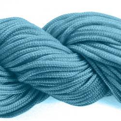 Шнур нейлоновый для рукоделия темно голубой