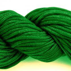 Шнур нейлоновый для рукоделия зеленый